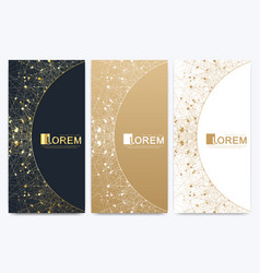 chocolate bar packaging set trendy luxury product vector image