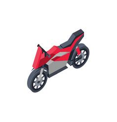 City sportbike isometric 3d element vector