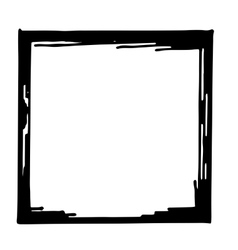 Hand drawn frame vector image