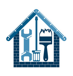 home repair symbol vector image