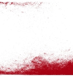 Grunge Red Texture vector image