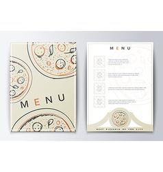 Design menu Menu food vector