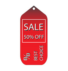 Discount tags icon with price vector