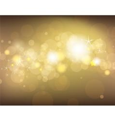 Golden festive background vector image