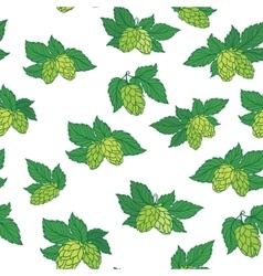 Hops Pattern vector