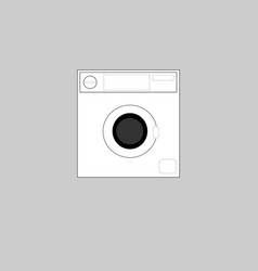 icon laundry vector image