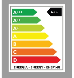 Infographic energy use vector