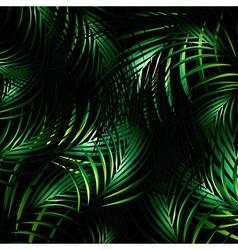 Jungle Night Background vector