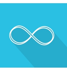 Limitless symbol vector image