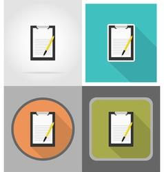 School education flat icons 02 vector