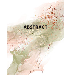 watercolor abstract splash background watercolour vector image