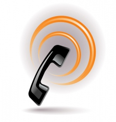 phone signal vector image vector image