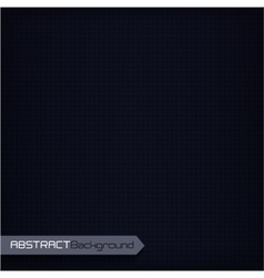 Black geometric abstract background vector image