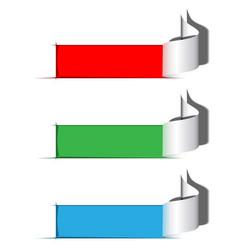 cutoutFrames vector image vector image