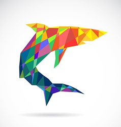 Shark abstract vector