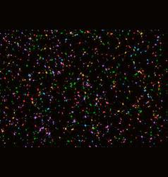 Confetti stars pattern vector