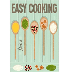 Easy Cooking vector