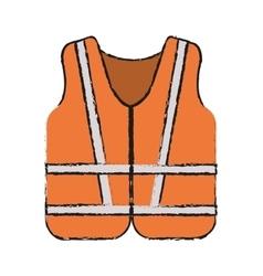 Jacket of industrial security design vector