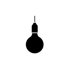 lightbulb graphic design template isolated vector image