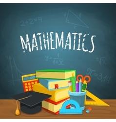 Math backdrop vector