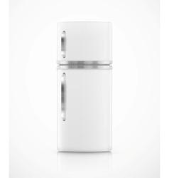 Isolated fridge vector image vector image