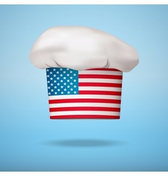 American national cuisine vector image