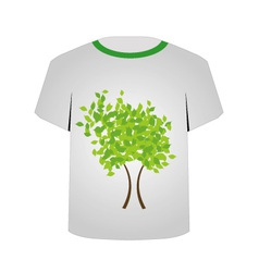 Printable tshirt graphic- Spring tree vector