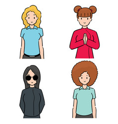 Set women vector