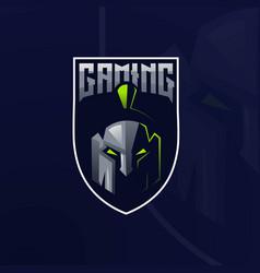 Spartan gaming logo vector