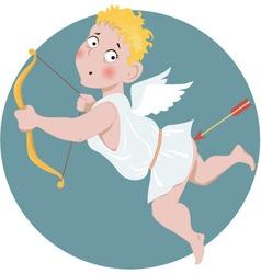 Stupid Cupid vector image