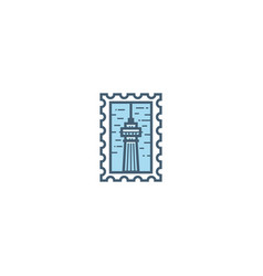 toronto stamp vector image