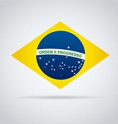 brazil design vector image vector image