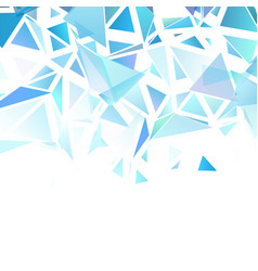 abstract background with a low poly design vector image
