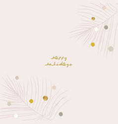 abstract christmas greeting card background with vector image