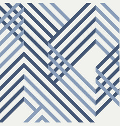 abstract of geometrical blue pattern design vector image