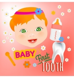 Bafirst tooth vector