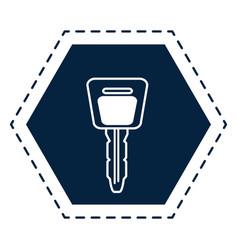car key symbol vector image