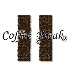 Coffee break- drink vector