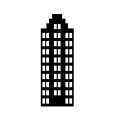 Italian building icon vector