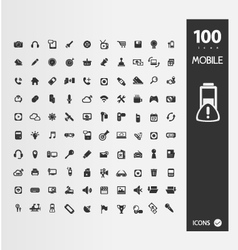 Minimal Styled Icons for autumn vector image