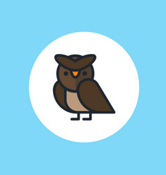 owl icon sign symbol vector image