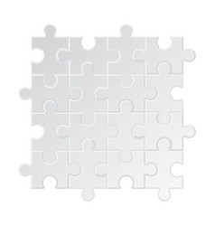 puzzle background business jigsaw tags collection vector image