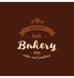 Set of bakery badges vector