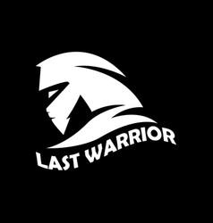Warrior logo designsport symbol vector