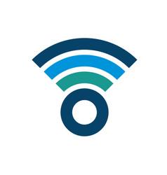 Wifi logo design business symbol concept vector