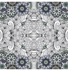 Beautiful geometric design on white background vector image vector image