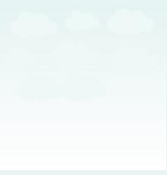 sky icon vector image vector image