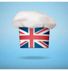 British national cuisine vector image vector image