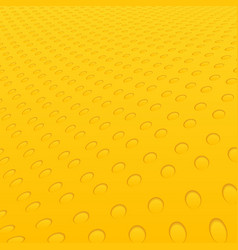 abstract yellow circles geometric hole pattern vector image