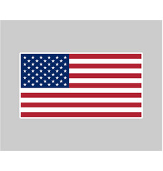 American flag soft edge vector